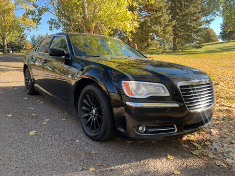 2012 Chrysler 300 for sale at BELOW BOOK AUTO SALES in Idaho Falls ID