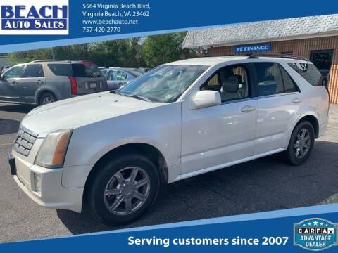 2004 Cadillac SRX for sale at Beach Auto Sales in Virginia Beach VA
