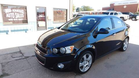 2016 Chevrolet Sonic for sale at Mid Kansas Auto Sales in Pratt KS