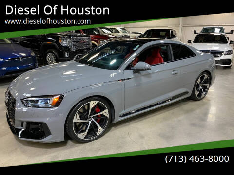 2018 Audi RS 5 for sale at Diesel Of Houston in Houston TX