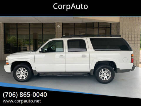 2005 Chevrolet Suburban for sale at CorpAuto in Cleveland GA