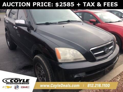 2005 Kia Sorento for sale at COYLE GM - COYLE NISSAN - Coyle Nissan in Clarksville IN