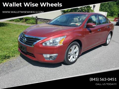 2013 Nissan Altima for sale at Wallet Wise Wheels in Montgomery NY