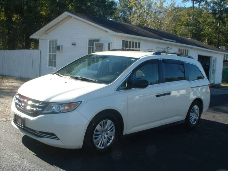 2014 Honda Odyssey for sale at Northgate Auto Sales in Myrtle Beach SC