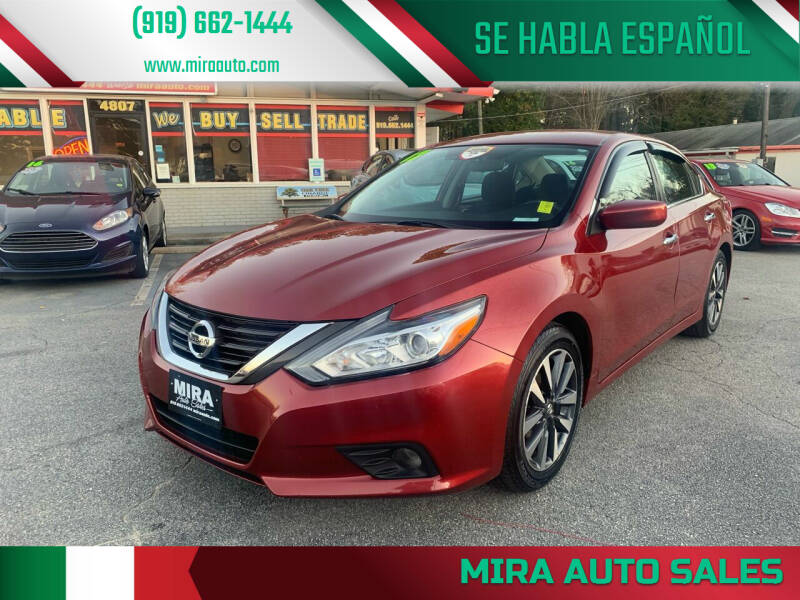2017 Nissan Altima for sale at Mira Auto Sales in Raleigh NC