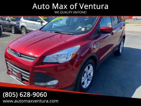 2016 Ford Escape for sale at Auto Max of Ventura in Ventura CA