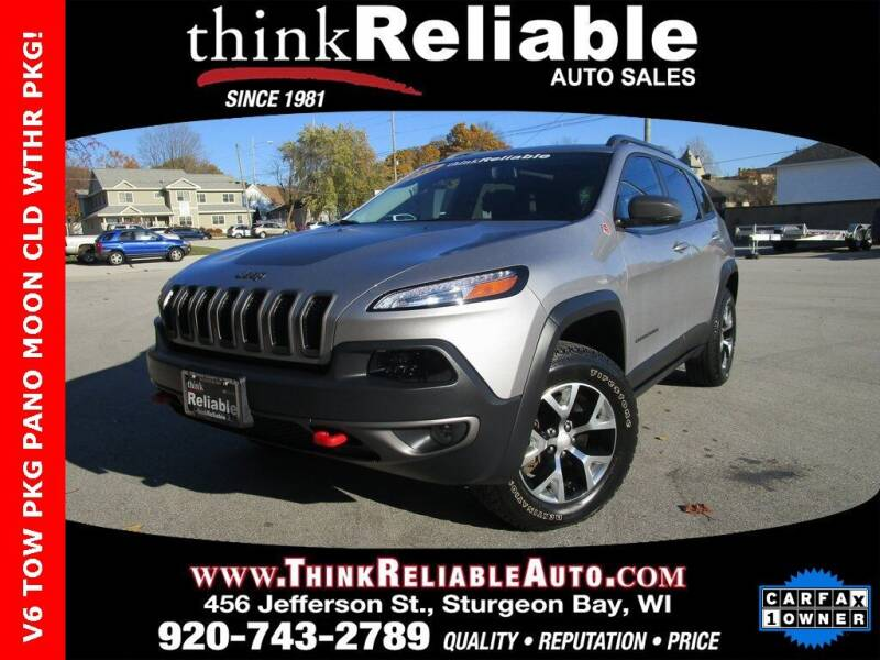 2018 Jeep Cherokee for sale at RELIABLE AUTOMOBILE SALES, INC in Sturgeon Bay WI