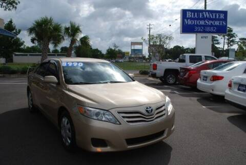 2010 Toyota Camry for sale at BlueWater MotorSports in Wilmington NC