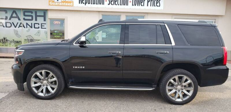 2017 Chevrolet Tahoe for sale at HomeTown Motors in Gillette WY