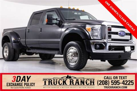 2015 Ford F-450 Super Duty for sale at Truck Ranch in Twin Falls ID