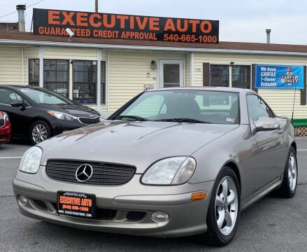 2004 Mercedes-Benz SLK for sale at Executive Auto in Winchester VA