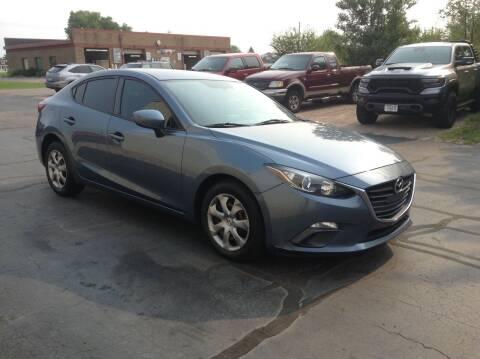 2015 Mazda MAZDA3 for sale at Bruns & Sons Auto in Plover WI