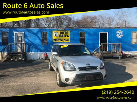 2012 Kia Soul for sale at Route 6 Auto Sales in Portage IN