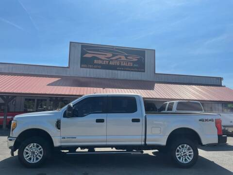 2017 Ford F-250 Super Duty for sale at Ridley Auto Sales, Inc. in White Pine TN