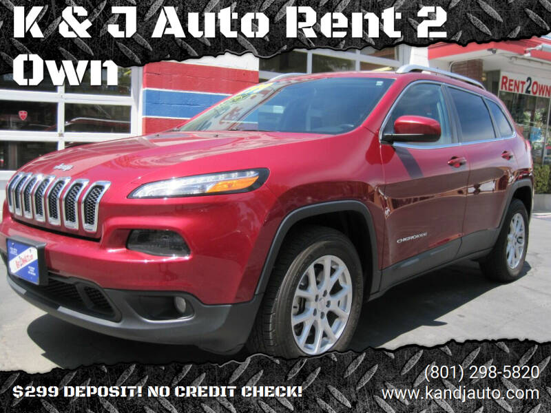 2016 Jeep Cherokee for sale at K & J Auto Rent 2 Own in Bountiful UT
