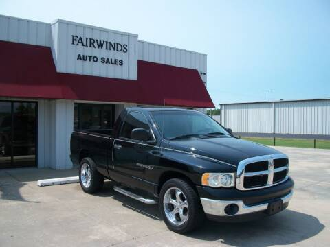 2005 Dodge Ram Pickup 1500 for sale at Fairwinds Auto Sales in Dewitt AR