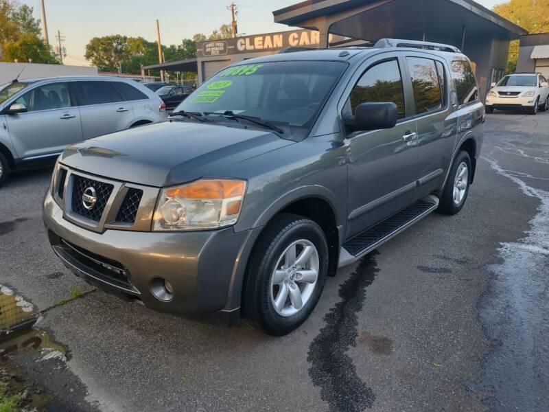 2013 Nissan Armada for sale at DON BAILEY AUTO SALES in Phenix City AL
