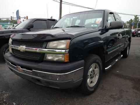 2005 Chevrolet Silverado 1500 for sale at P J McCafferty Inc in Langhorne PA