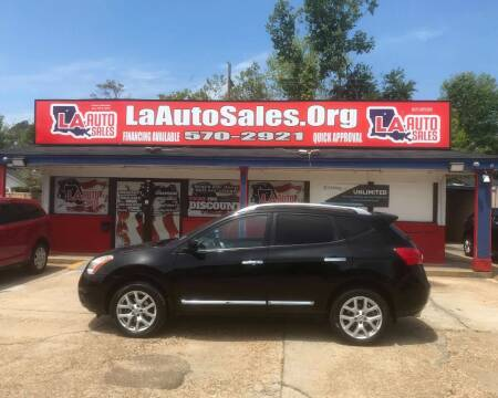 2012 Nissan Rogue for sale at LA Auto Sales in Monroe LA