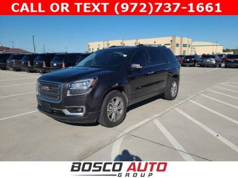 2016 GMC Acadia for sale at Bosco Auto Group in Flower Mound TX