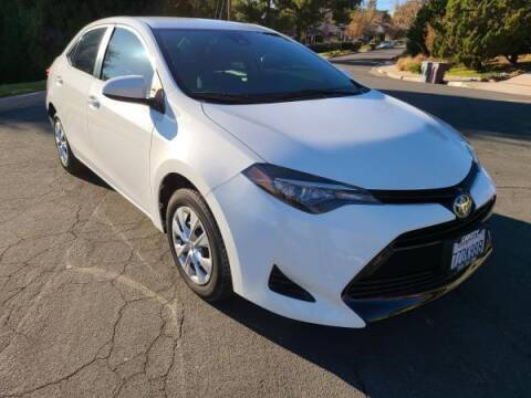 2017 Toyota Corolla for sale at CAR CITY SALES in La Crescenta CA