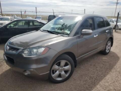 2007 Acura RDX for sale at PYRAMID MOTORS - Pueblo Lot in Pueblo CO