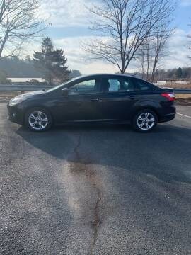2012 Ford Focus for sale at Allen's Affordable Auto in Southwick MA