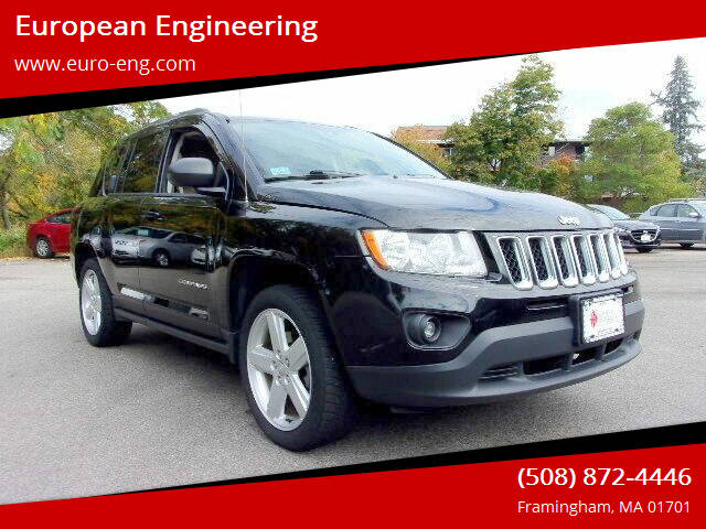 2013 Jeep Compass for sale at European Engineering in Framingham MA