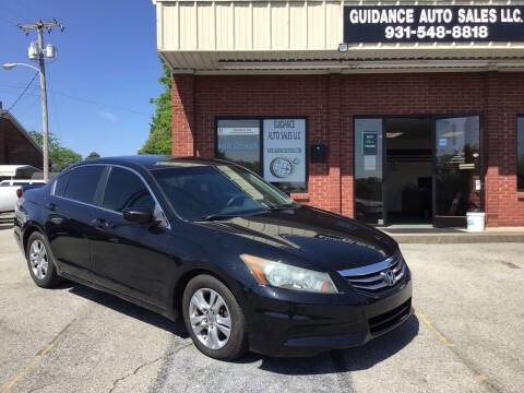 2011 Honda Accord for sale at Guidance Auto Sales LLC in Columbia TN