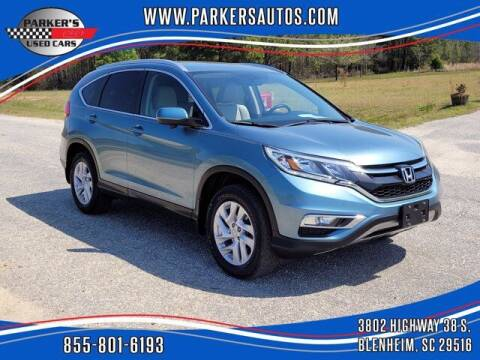 2016 Honda CR-V for sale at Parker's Used Cars in Blenheim SC