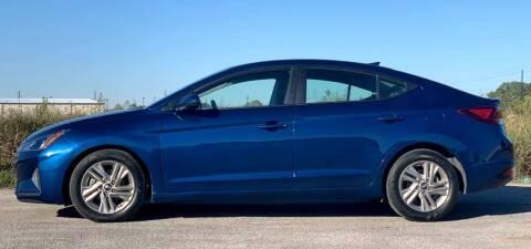 2019 Hyundai Elantra for sale at Palmer Auto Sales in Rosenberg TX