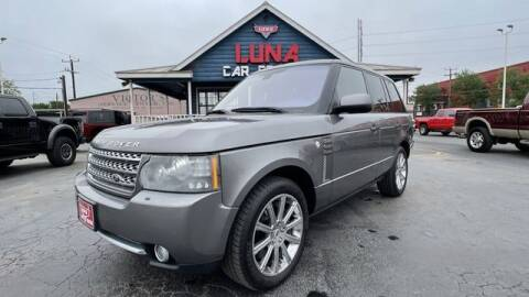 2011 Land Rover Range Rover for sale at LUNA CAR CENTER in San Antonio TX