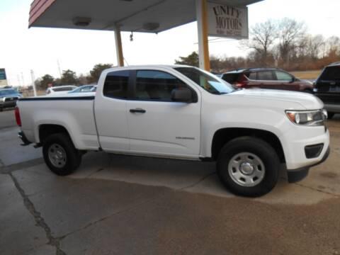 2018 Chevrolet Colorado for sale at Unity Motors LLC in Jenison MI
