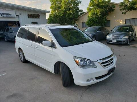 2007 Honda Odyssey for sale at DFW AUTO FINANCING LLC in Dallas TX