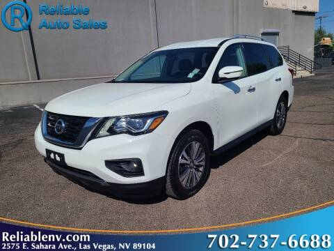 2017 Nissan Pathfinder for sale at Reliable Auto Sales in Las Vegas NV