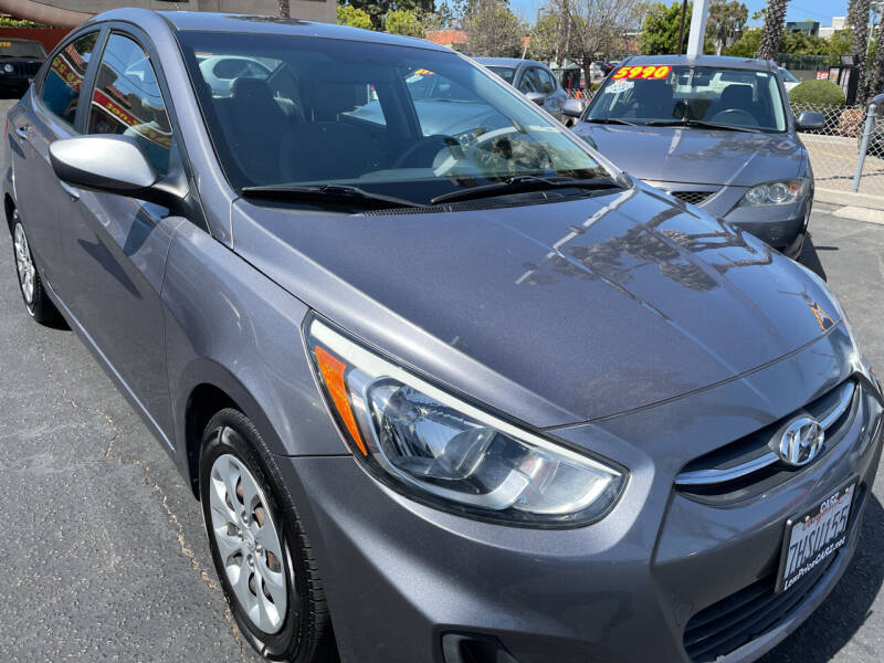 2015 Hyundai Accent for sale at CARZ in San Diego CA