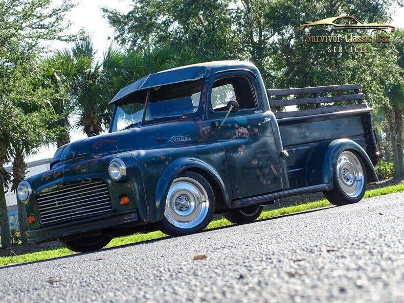 1953 Dodge Pilot for sale at SURVIVOR CLASSIC CAR SERVICES in Palmetto FL