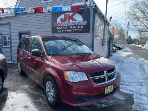 2015 Dodge Grand Caravan for sale at JK & Sons Auto Sales in Westport MA