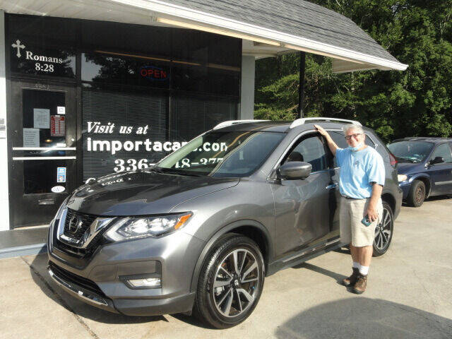 2020 Nissan Rogue for sale at importacar in Madison NC