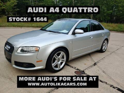 2008 Audi A4 for sale at Autolika Cars LLC in North Royalton OH