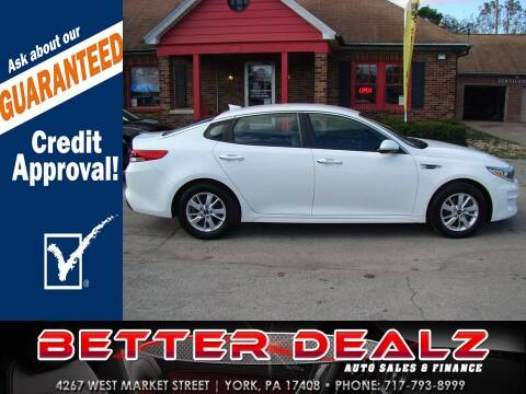 2018 Kia Optima for sale at Better Dealz Auto Sales & Finance in York PA