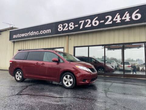 2014 Toyota Sienna for sale at AutoWorld of Lenoir in Lenoir NC