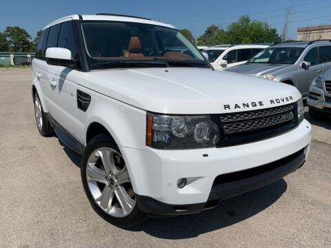 2012 Land Rover Range Rover Sport for sale at KAYALAR MOTORS in Houston TX