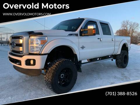 2015 Ford F-350 Super Duty for sale at Overvold Motors in Detriot Lakes MN