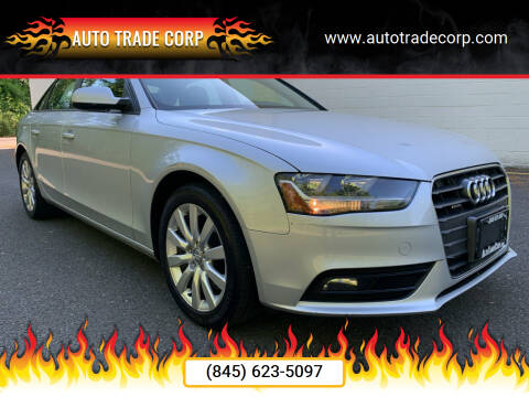 2014 Audi A4 for sale at AUTO TRADE CORP in Nanuet NY