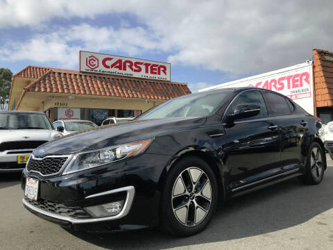 2013 Kia Optima Hybrid for sale at CARSTER in Huntington Beach CA