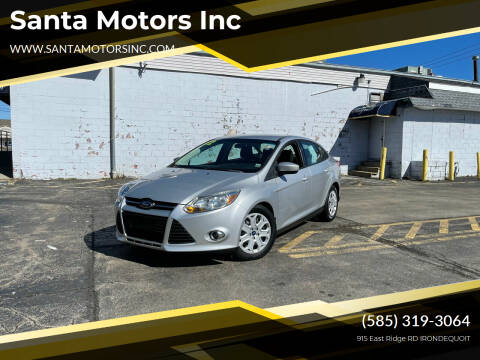 2012 Ford Focus for sale at Santa Motors Inc in Rochester NY