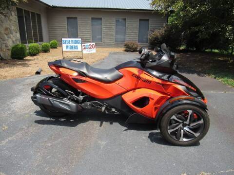 2014 Can-Am Spyder RS-S SE5 for sale at Blue Ridge Riders in Granite Falls NC