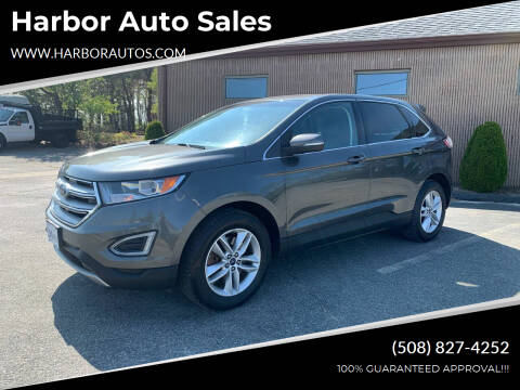2015 Ford Edge for sale at Harbor Auto Sales in Hyannis MA