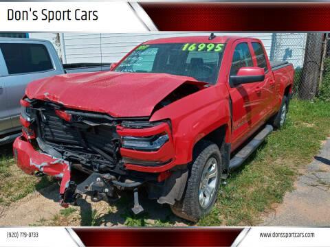 2017 Chevrolet Silverado 1500 for sale at Don's Sport Cars in Hortonville WI